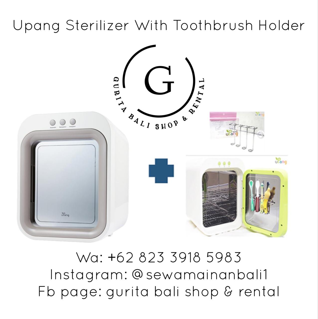 UPANG STERILIZER WITH TOOTHBRUSH HOLDER
