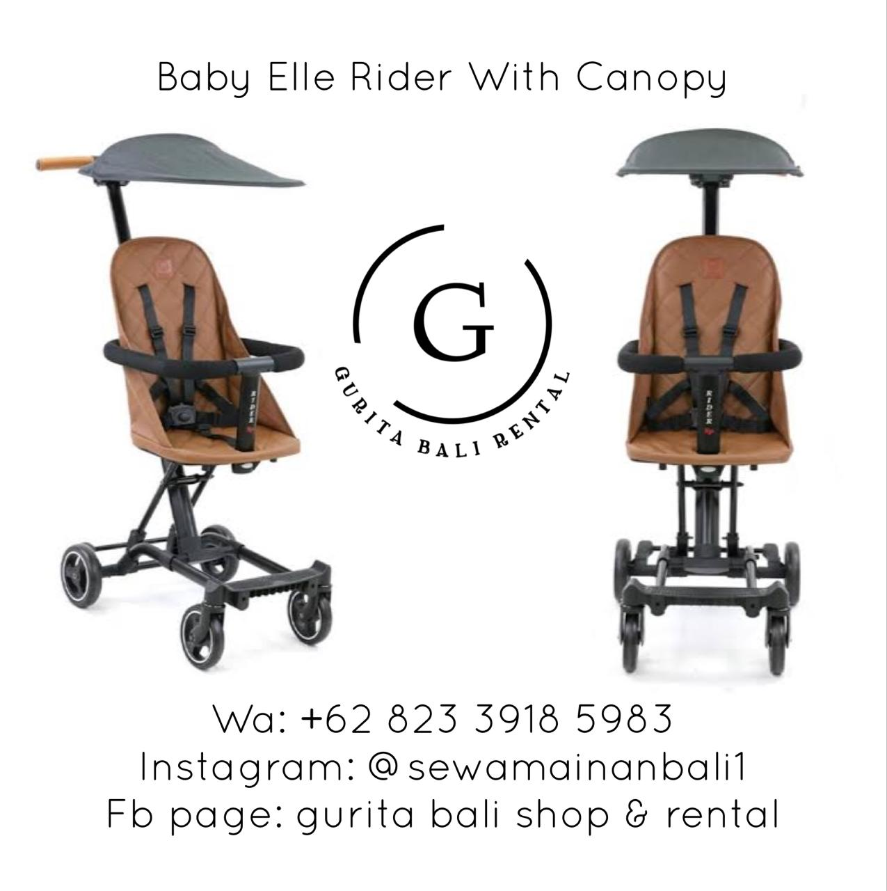 BABYELLE RIDER WITH CANOPY 2