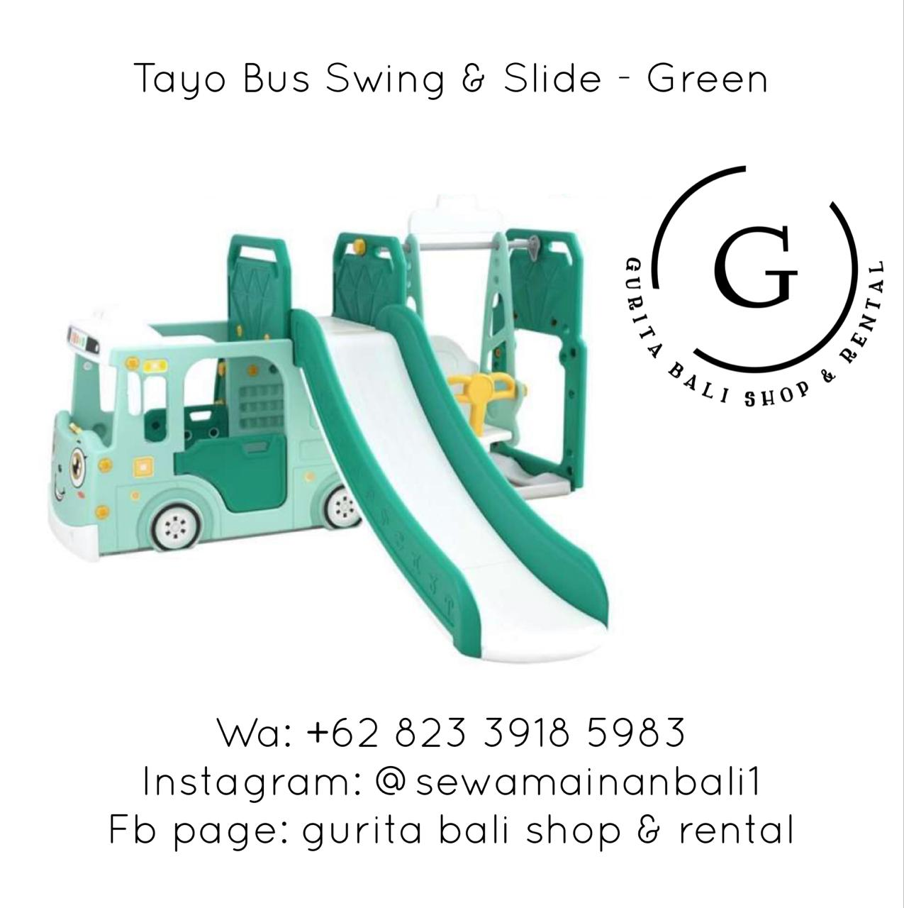 TAYO AND SLIDE ONLY - GREEN