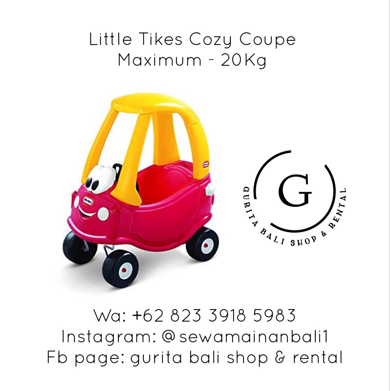 LITTLE TIKES RED