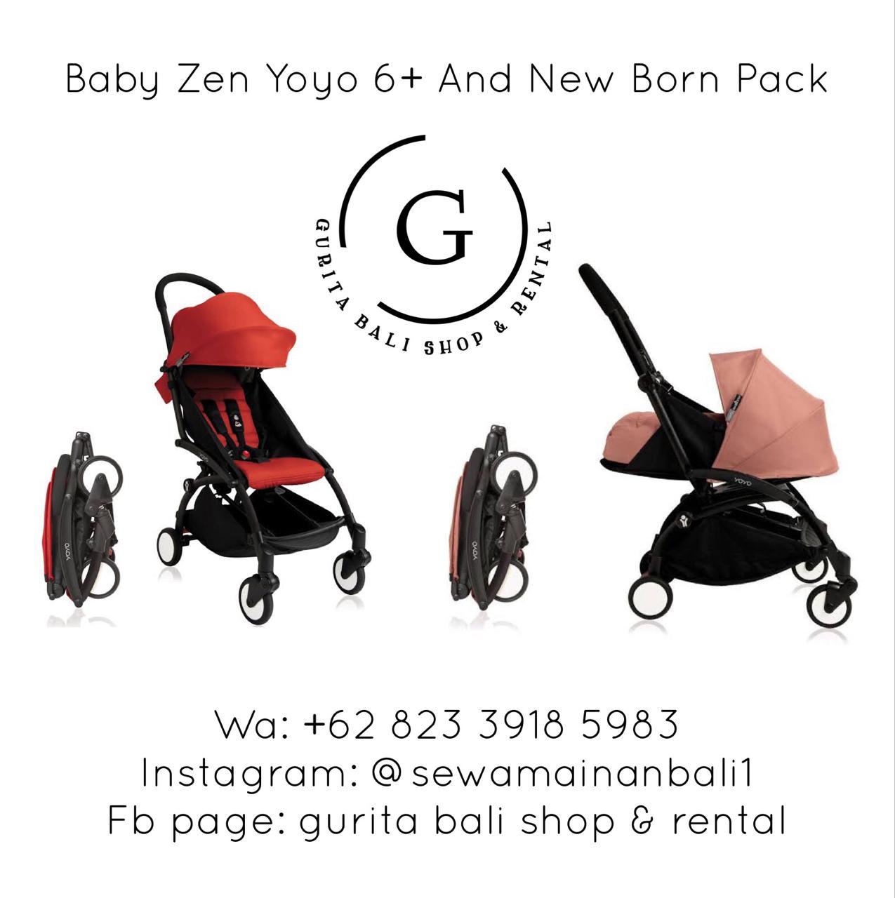 BABY ZEN YOYO 6+ OR NEW BORN