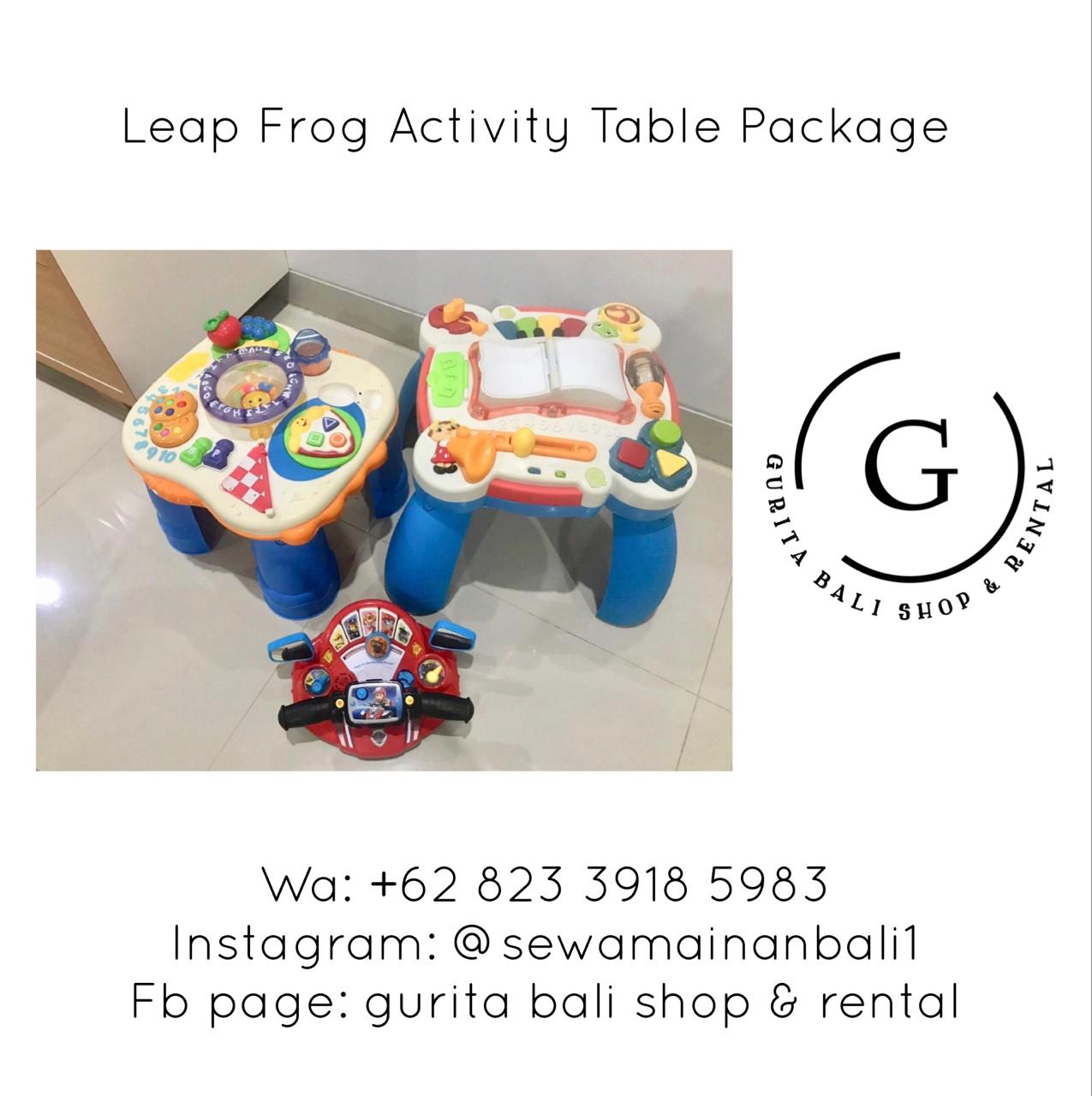 LEAP FROG ACTIVITY TABLE PACKAGE