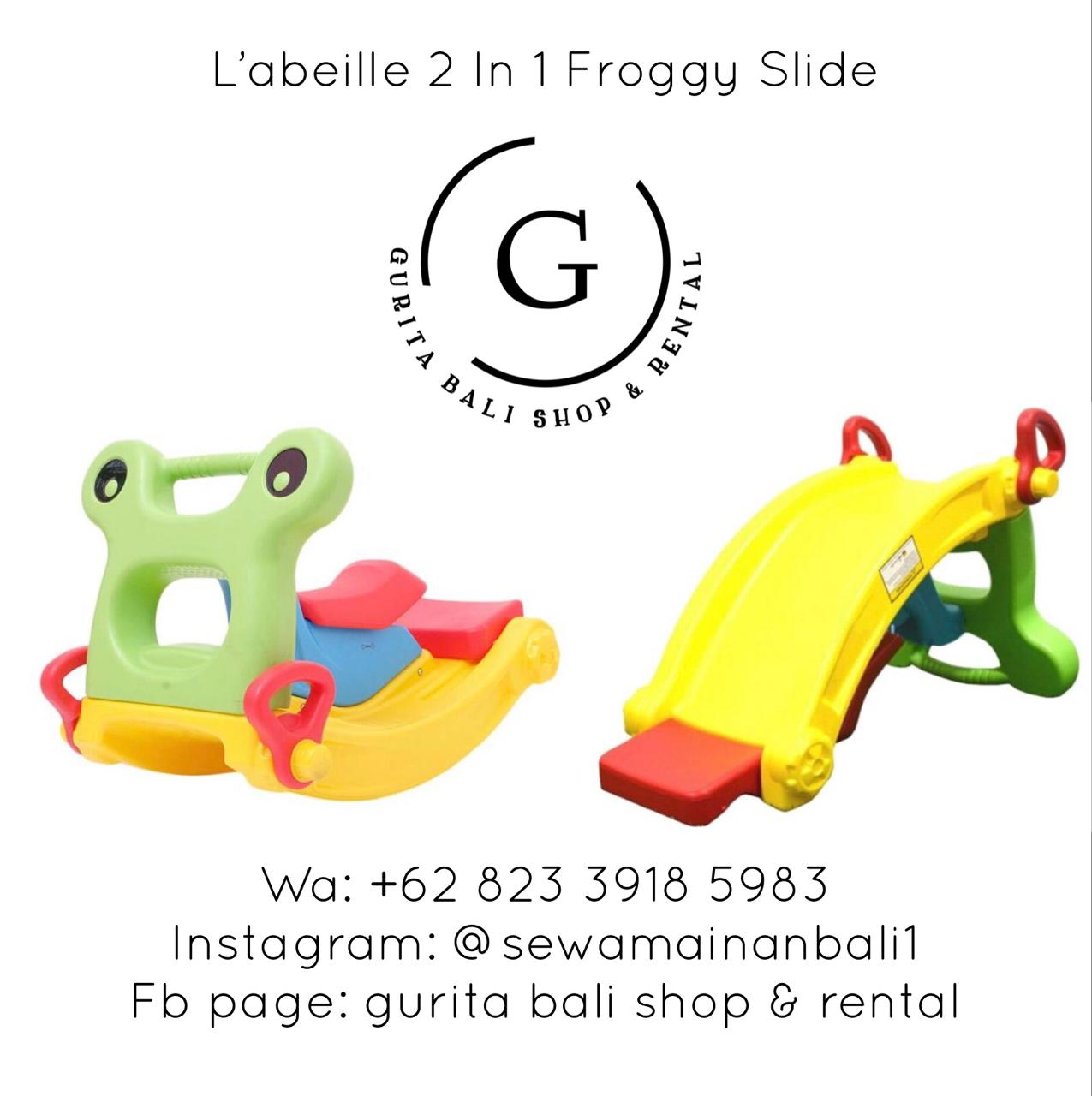 L'ABEILLE 2 IN 1 FROGGY SLIDE