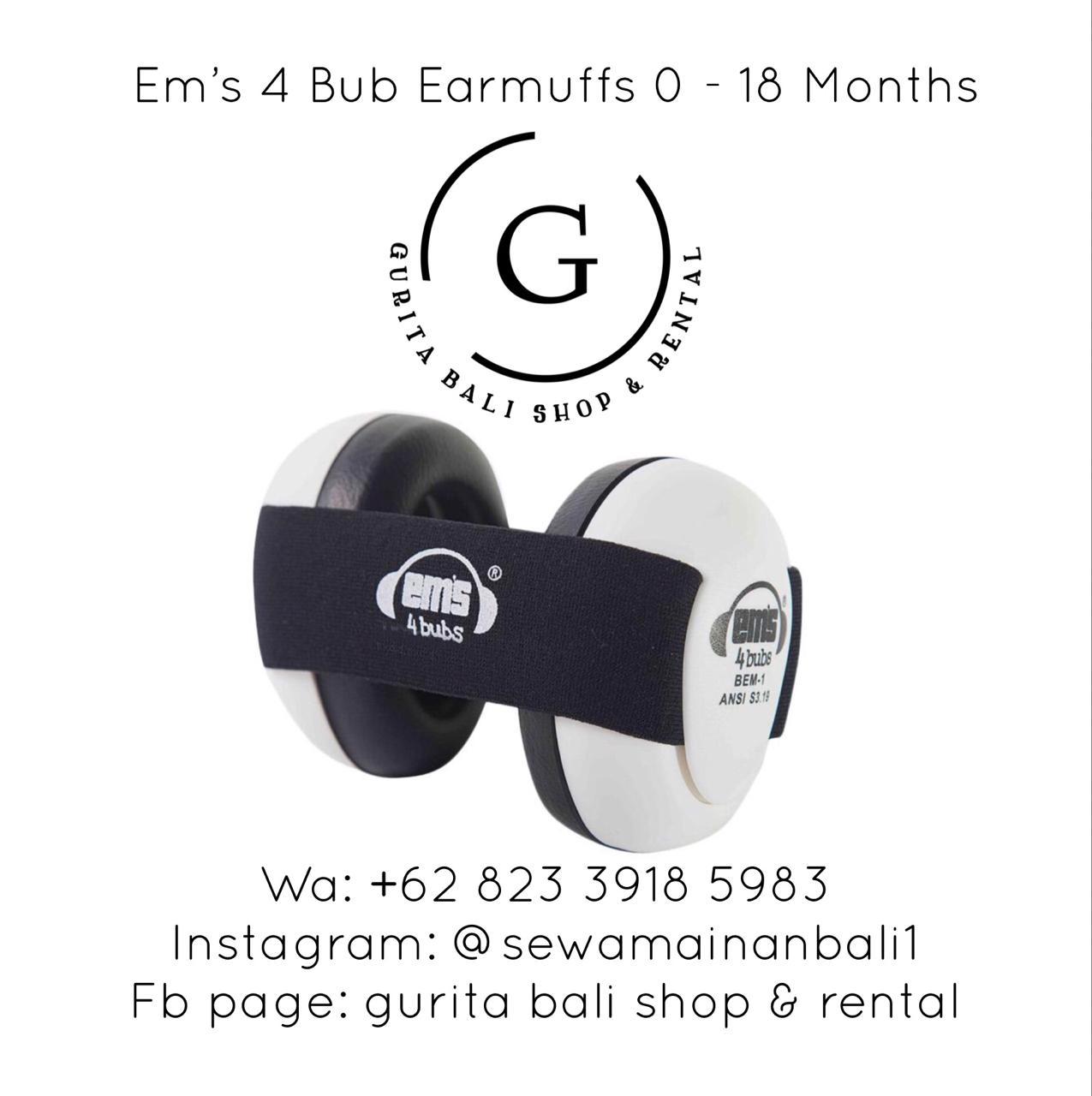 EM'S 4 BUB EARMUFFS
