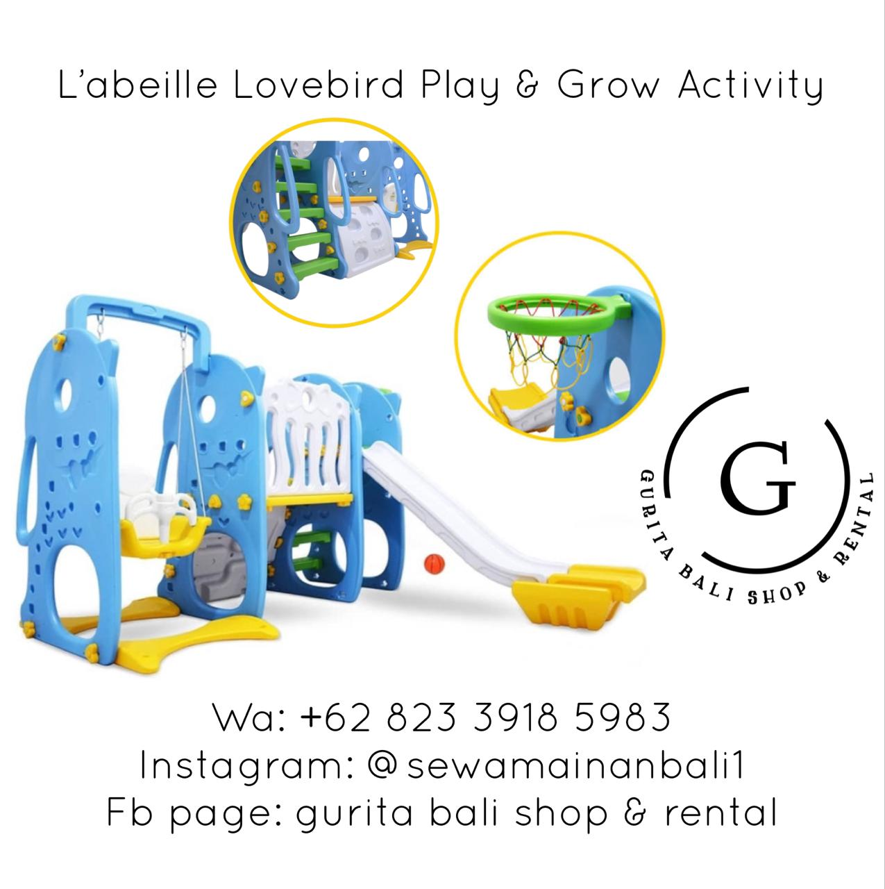 L'ABEILLE LOVEBIRD PLAY & GROW ACTIVITY