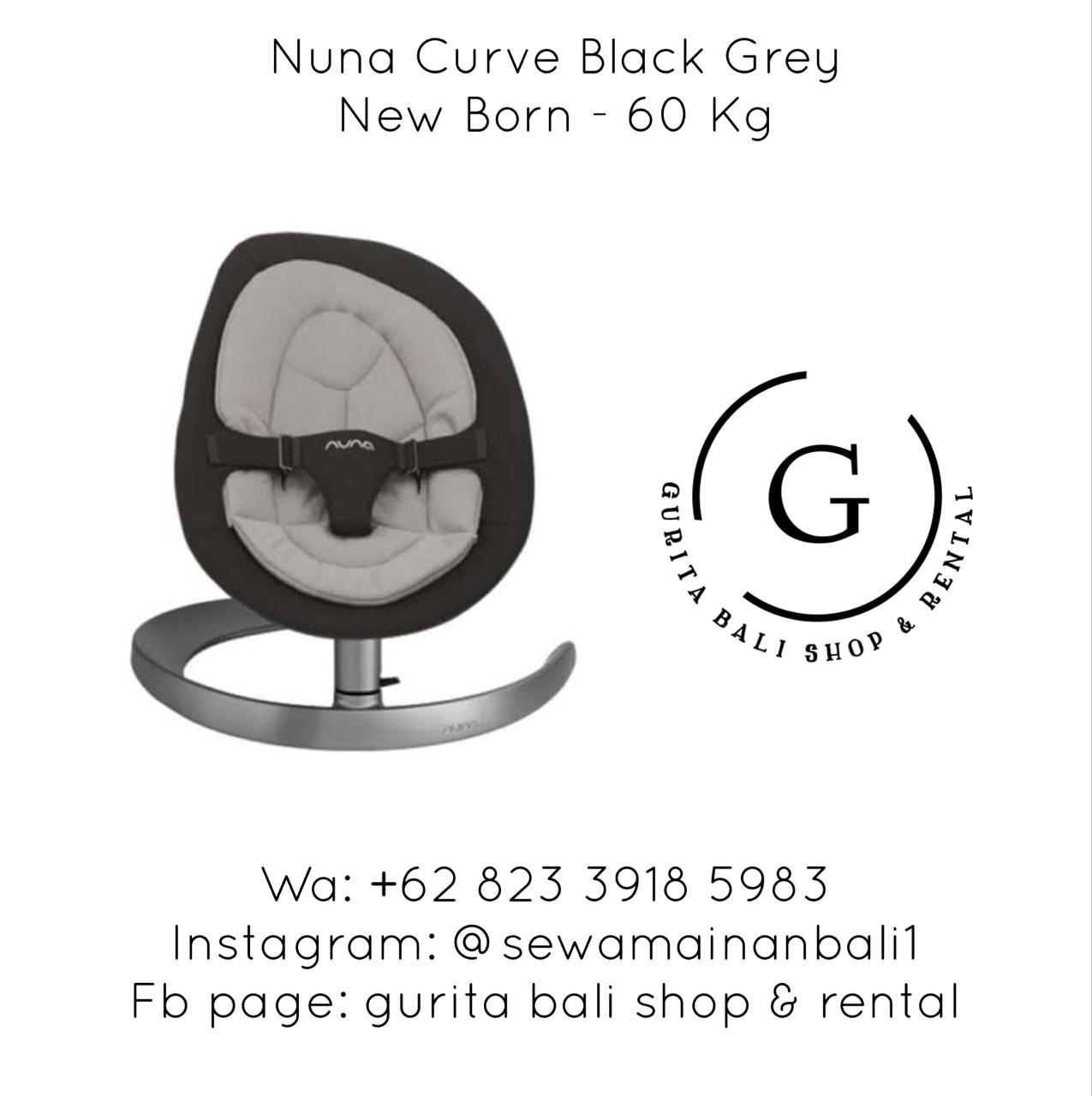 NUNA CURVE BLACK GREY