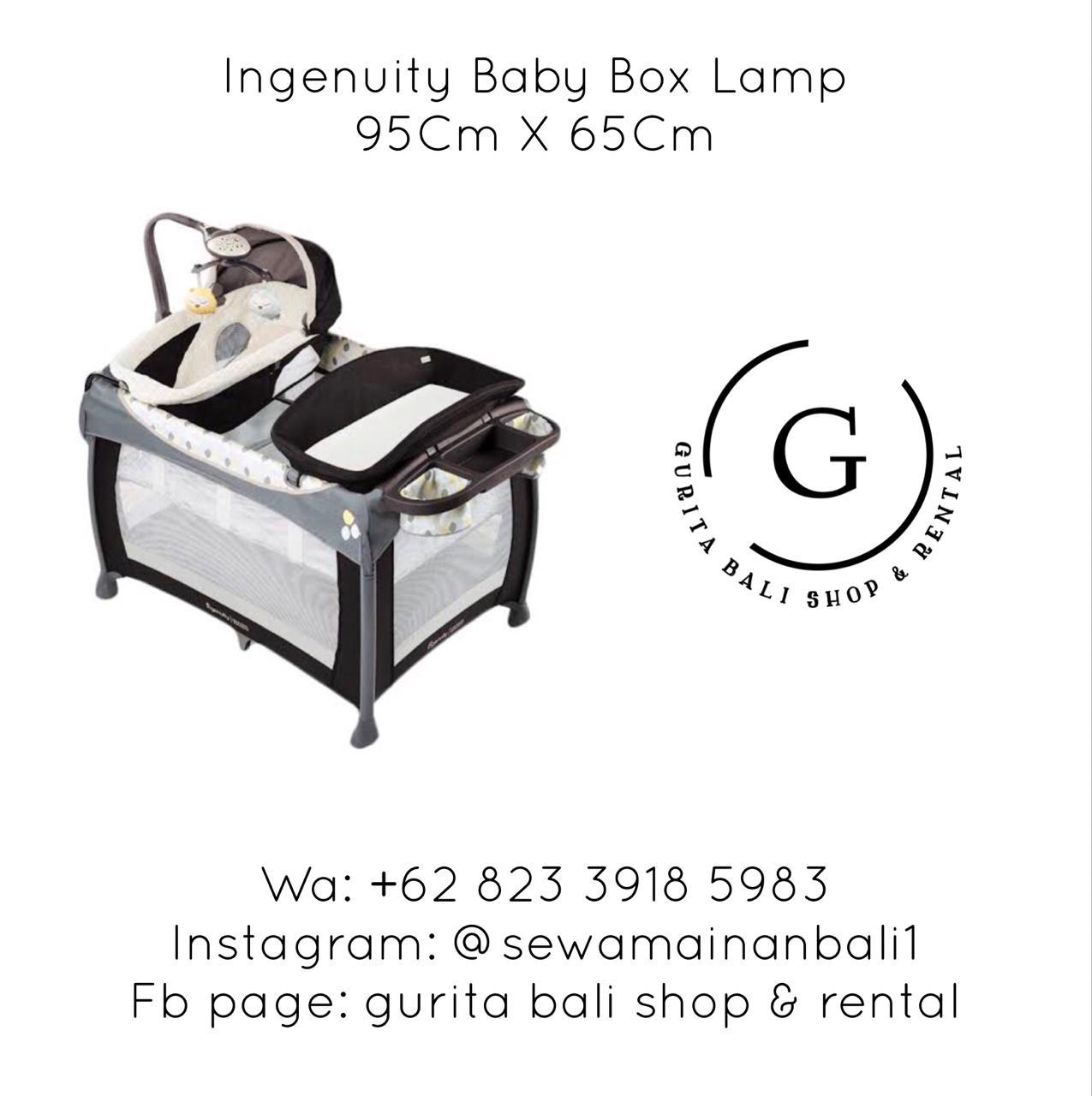 INGENUITY BABY BOX LAMP