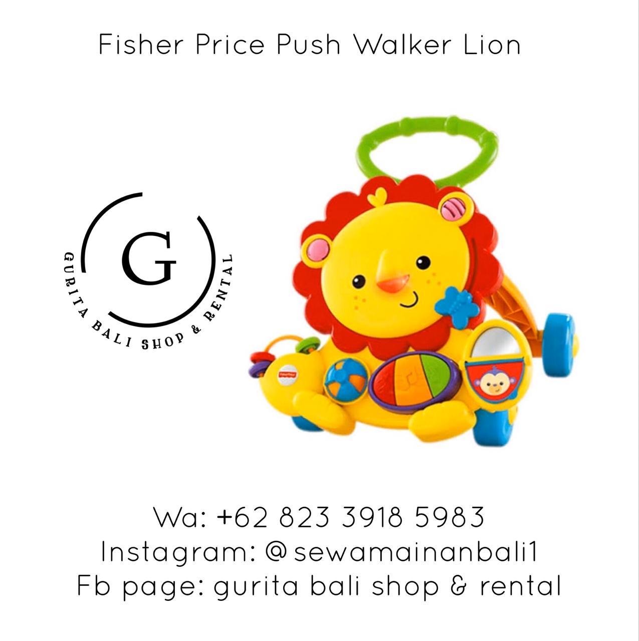 PUSH WALKER LION 4