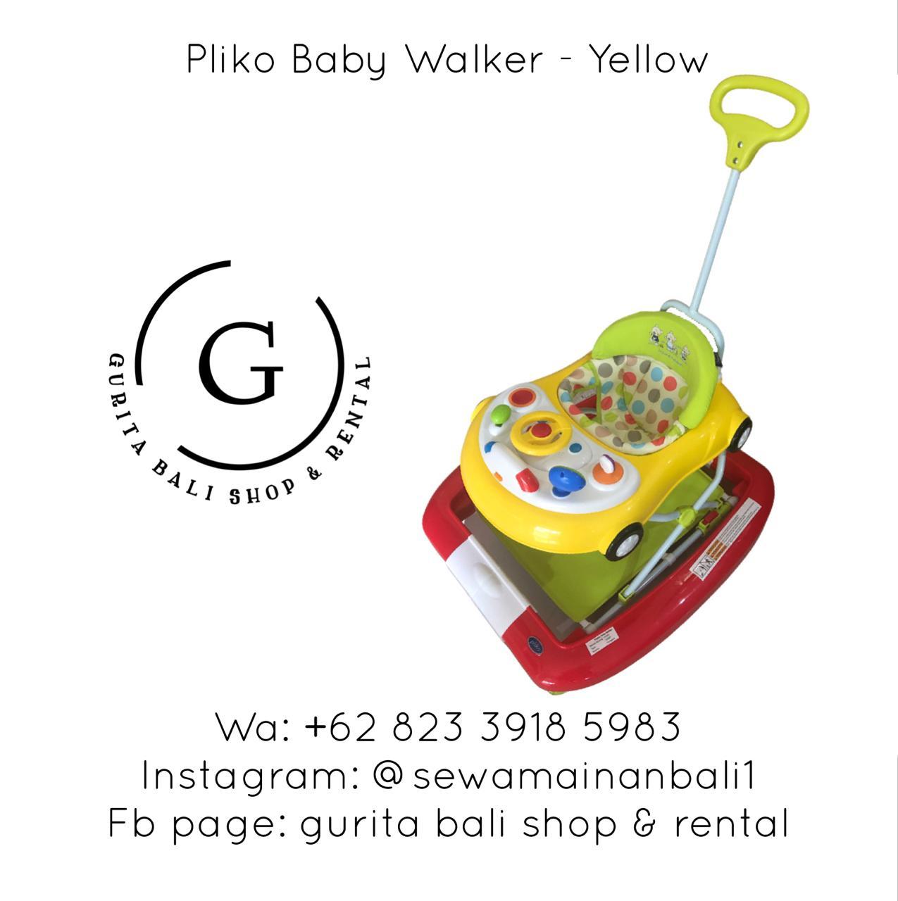 PLIKO BABY WALKER YELLOW