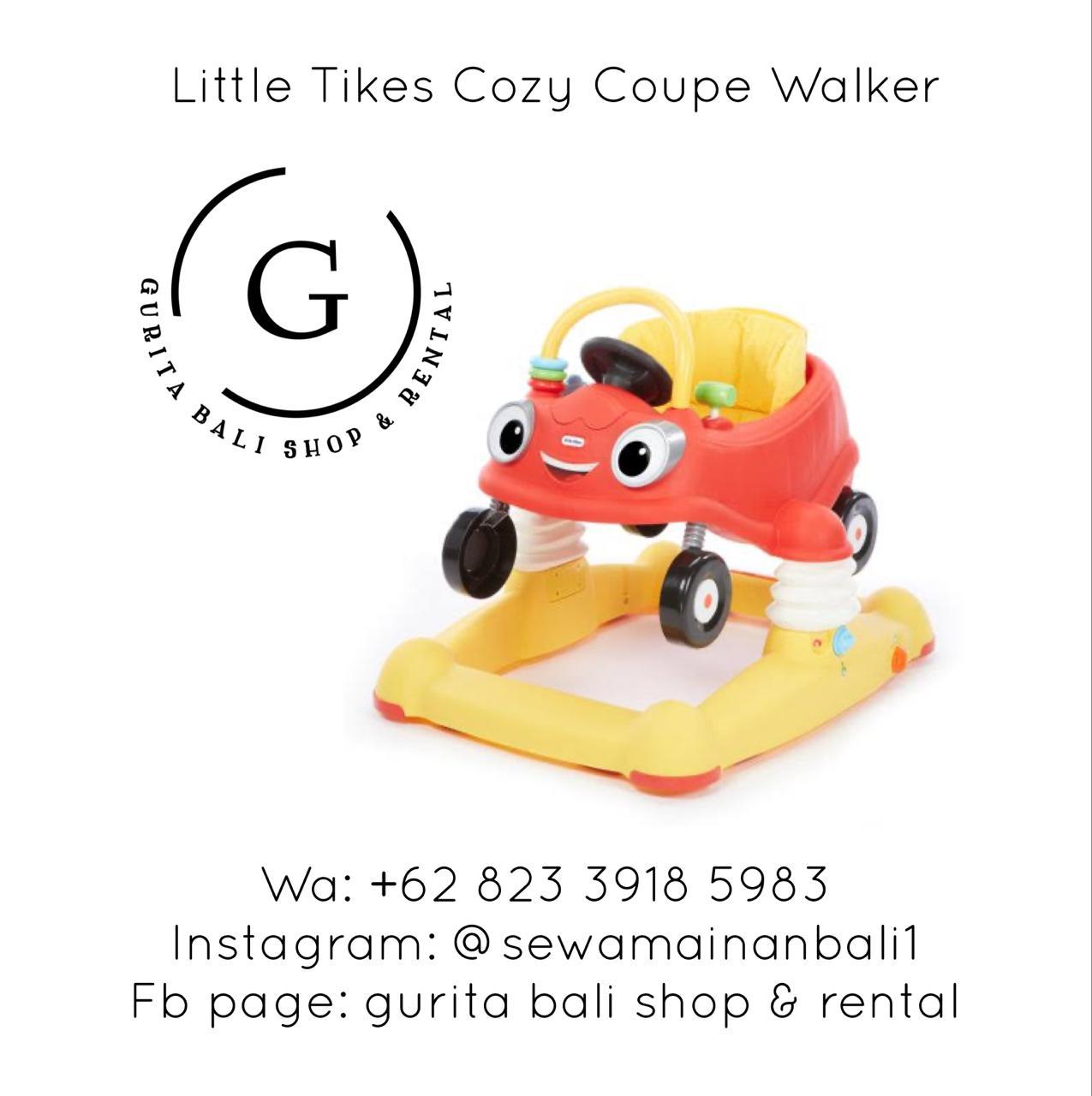 LITTLE TIKES COZY COUPE WALKER