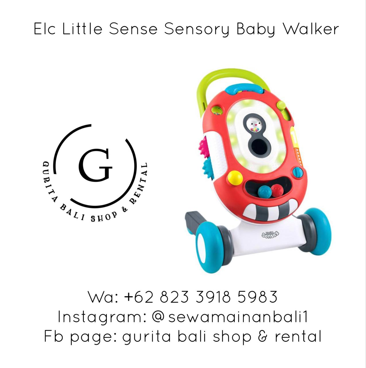 ELC LITTLE SENSE SENSORY BABY WALKER