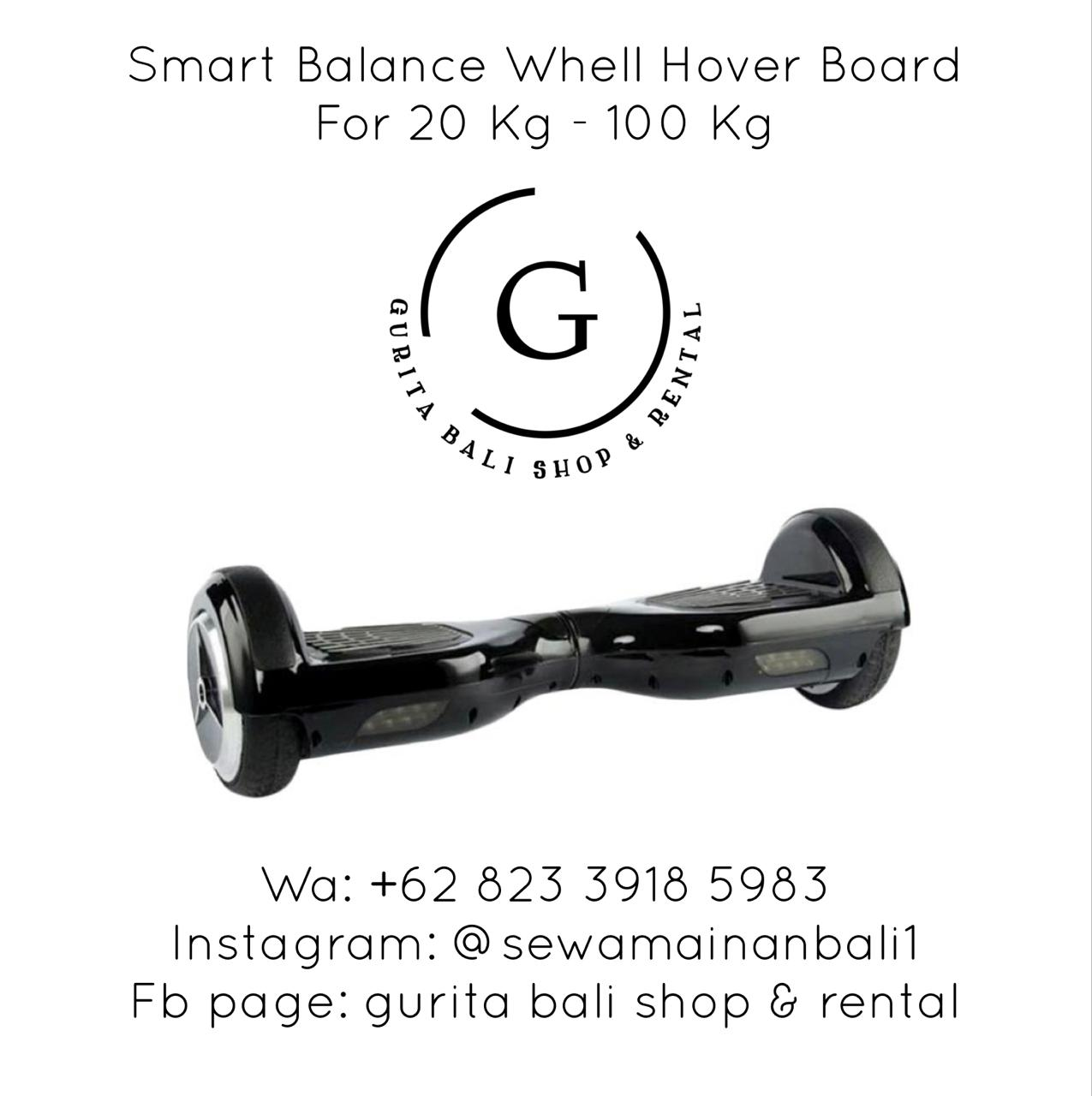 SMART BALANCE WHELL  HOVER BOARD