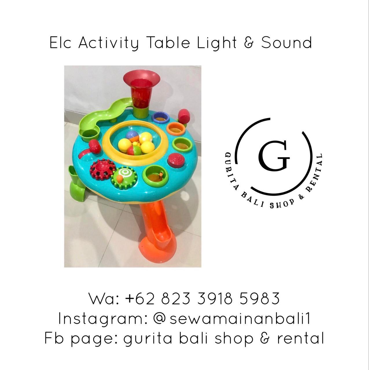 ELC ACTIVITY TABLE LIGHT & SOUND