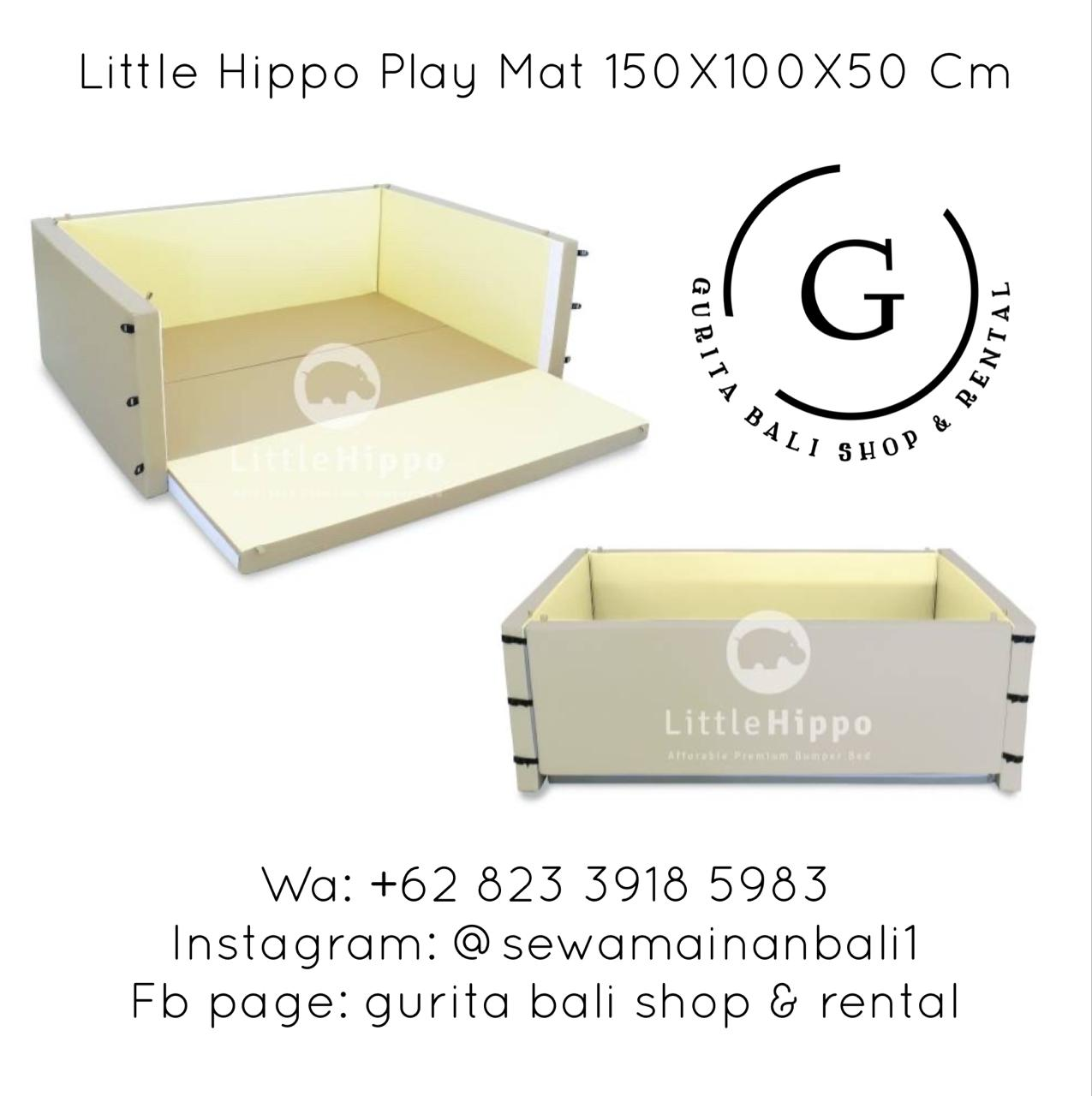 LITTLE HIPPO PLAY MAT