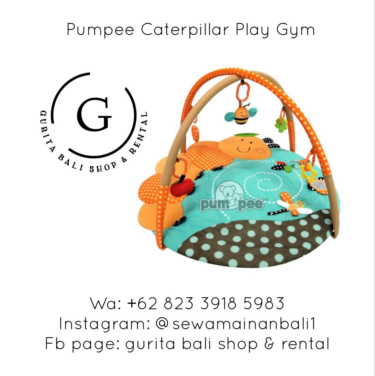 PUMPEE CATERPILLAR PLAY GYM