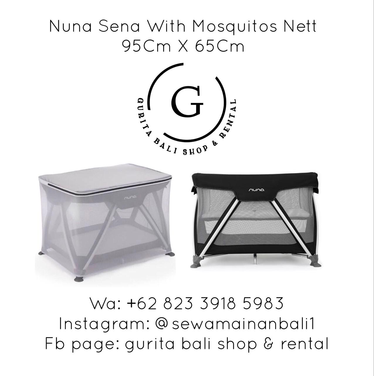 NUNA BABY BOX WITH MOSQUITO NET 1