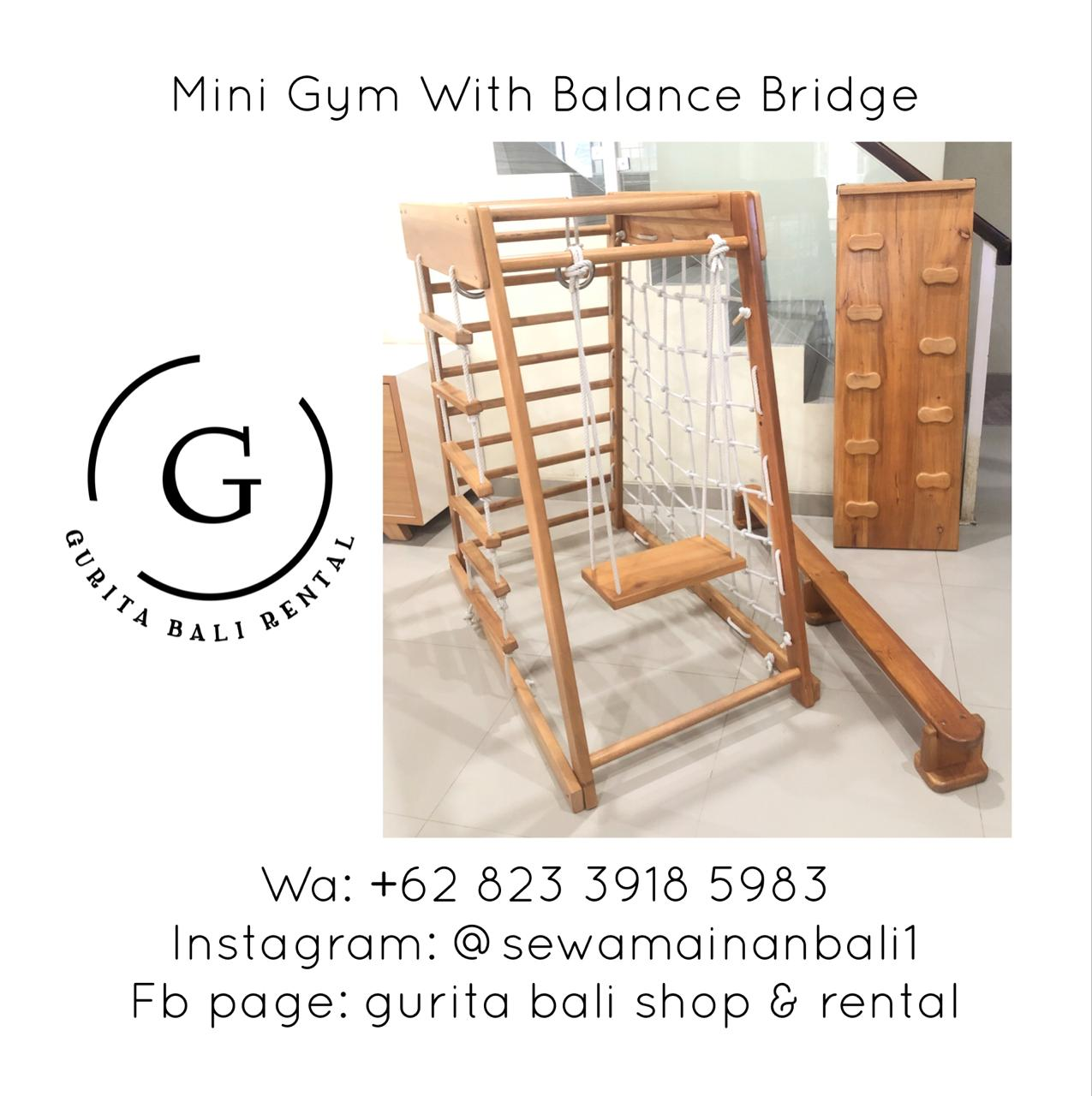 MINI GYM WITH BALANCE BRIDGE