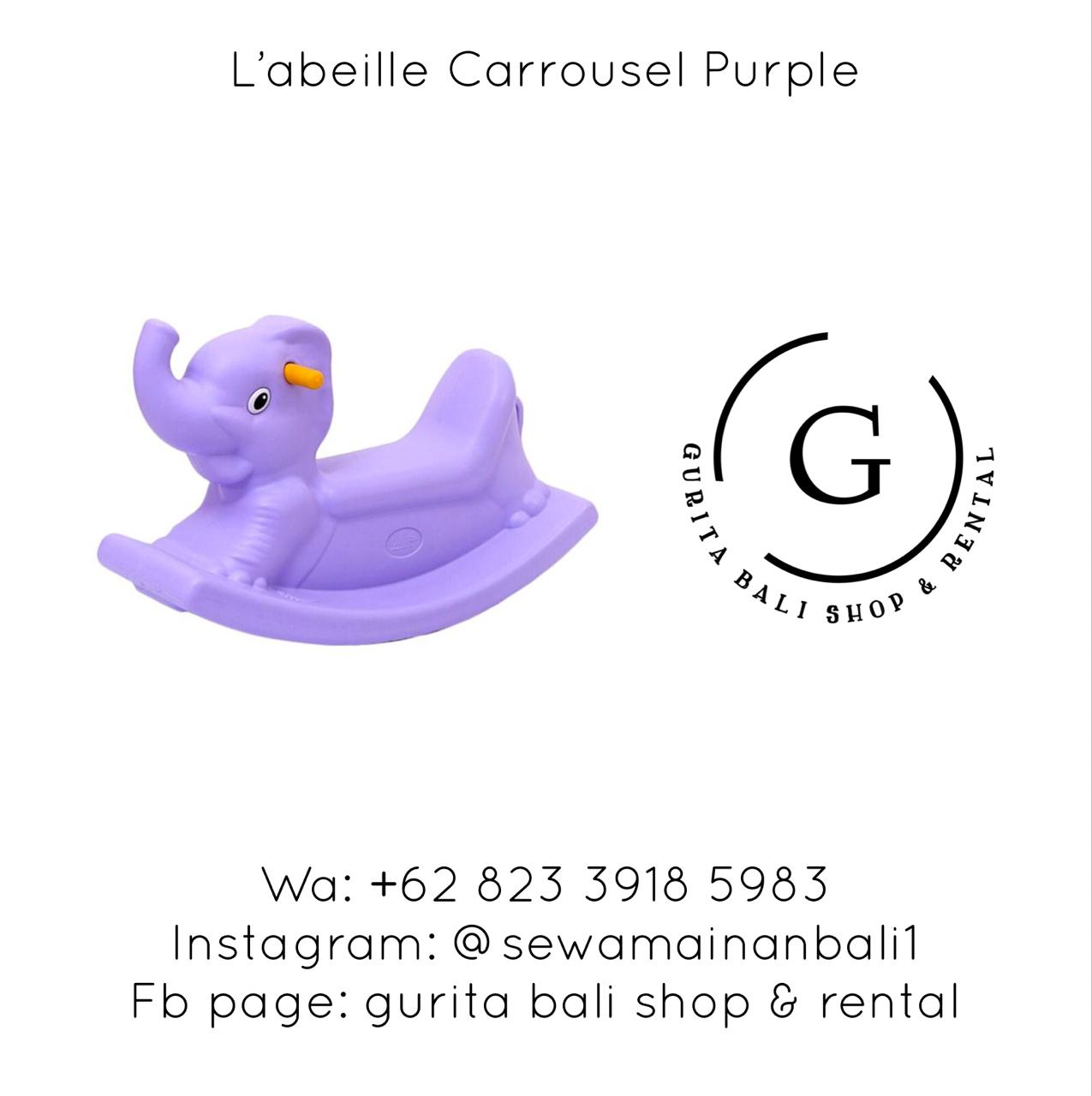 L'ABEILLE CARROUSEL PURPLE