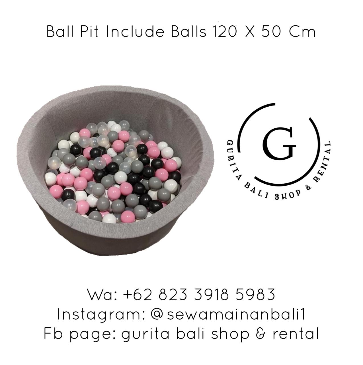 BALL PIT INCLUDE BALLS