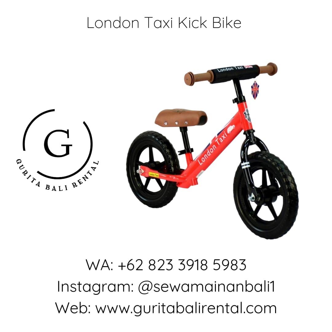 LONDON TAXI KICK BIKE 3