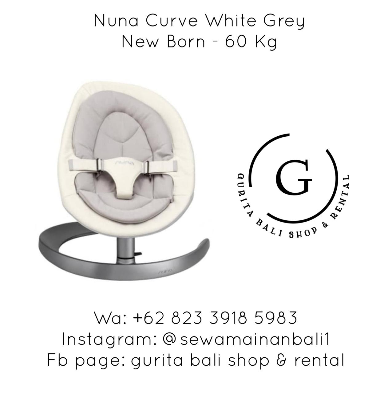 NUNA CURVE WHITE GREY
