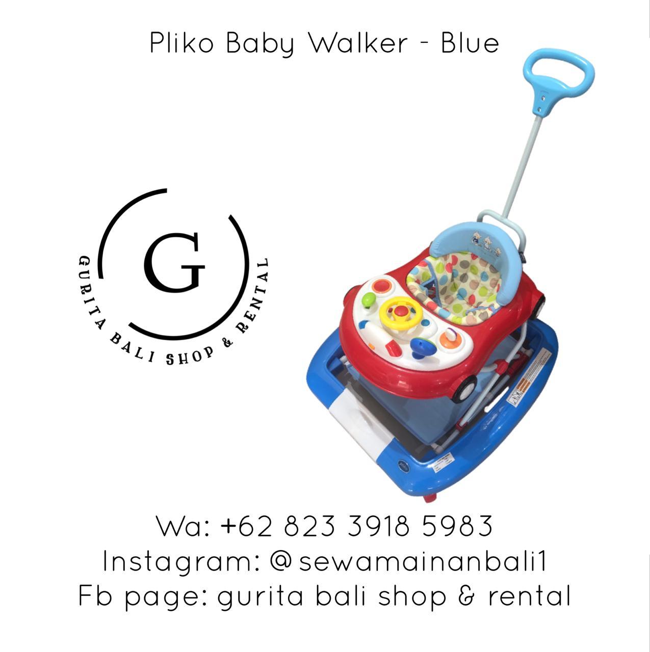 PLIKO BABY WALKER BLUE
