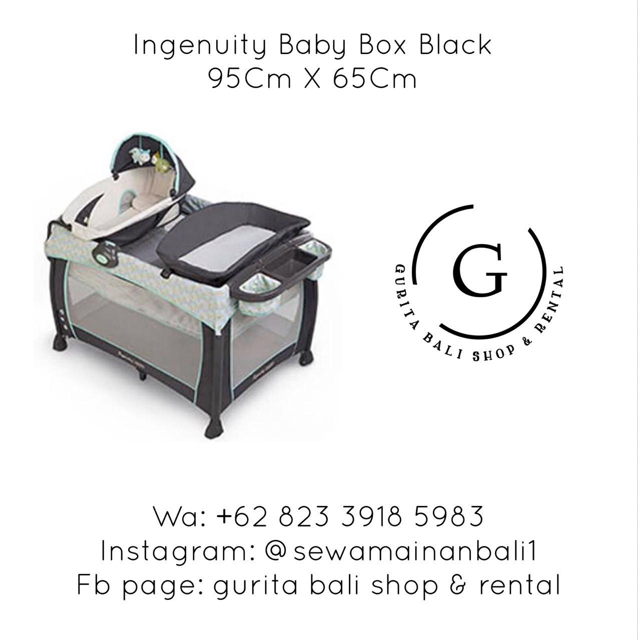 INGENUITY BABY BOX BLACK 2