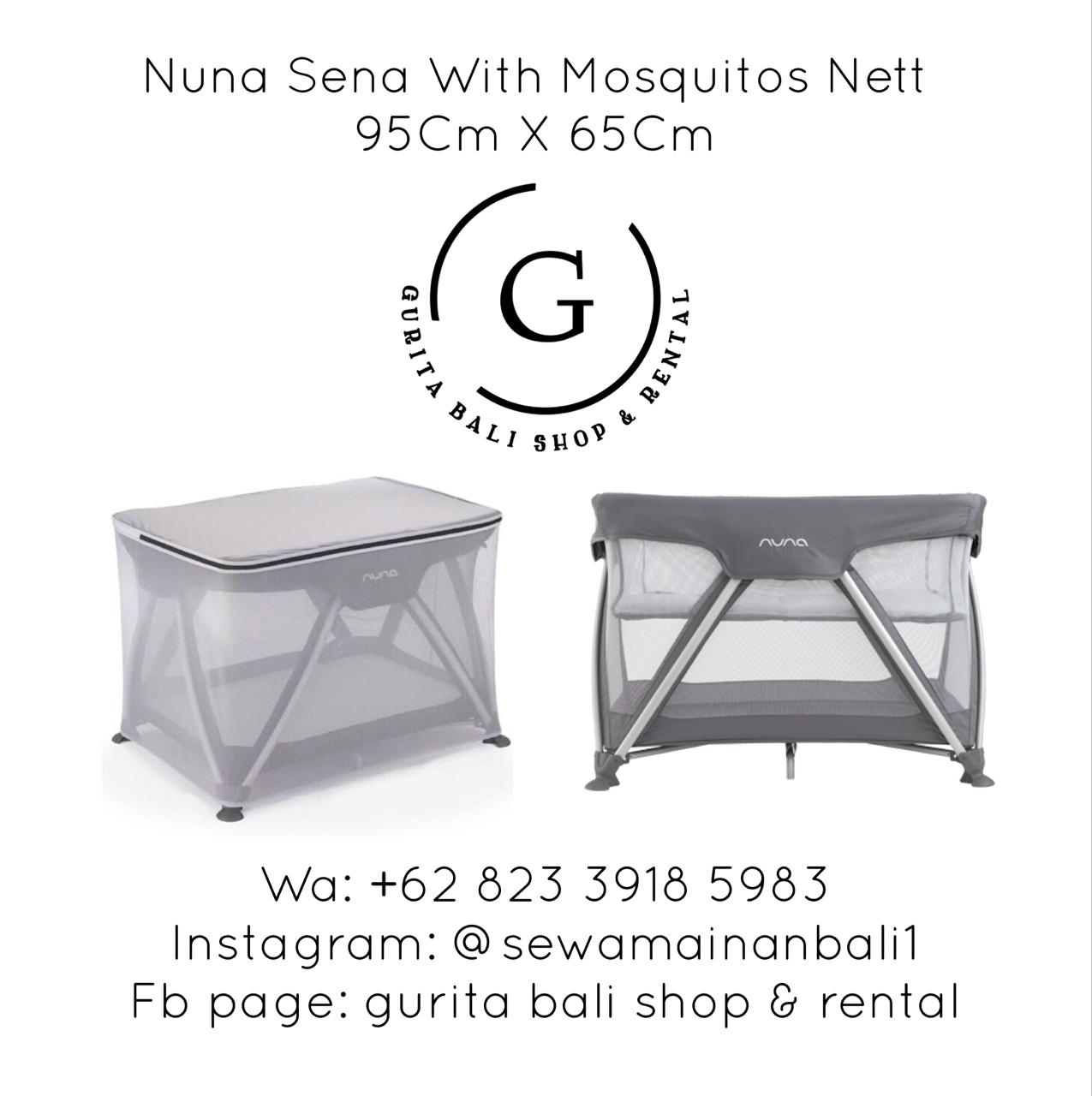 NUNA BABY BOX WITH MOSQUITO NET 3