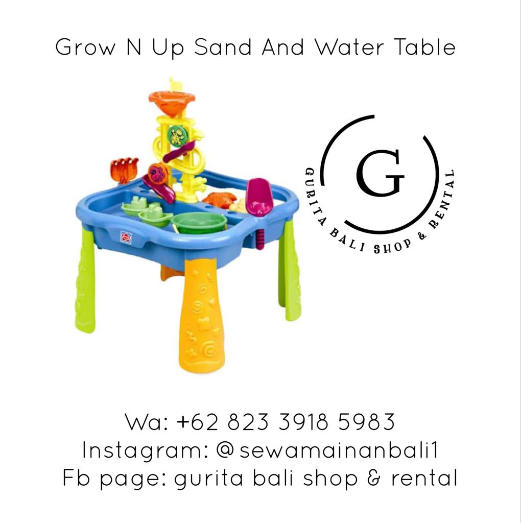 GROW N UP SAND AND WATER TABLE 1