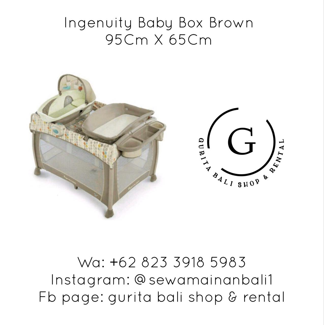 INGENUITY BABY BOX BROWN