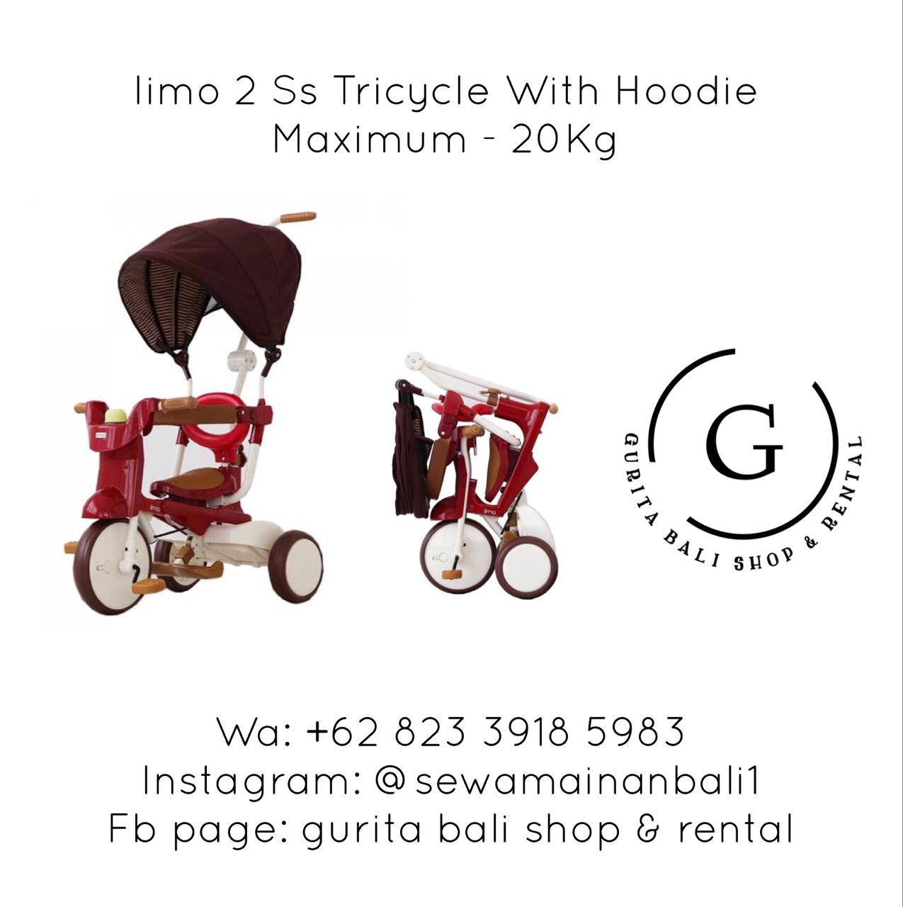IIMO 2 SS TRICYCLE WITH HOODIE