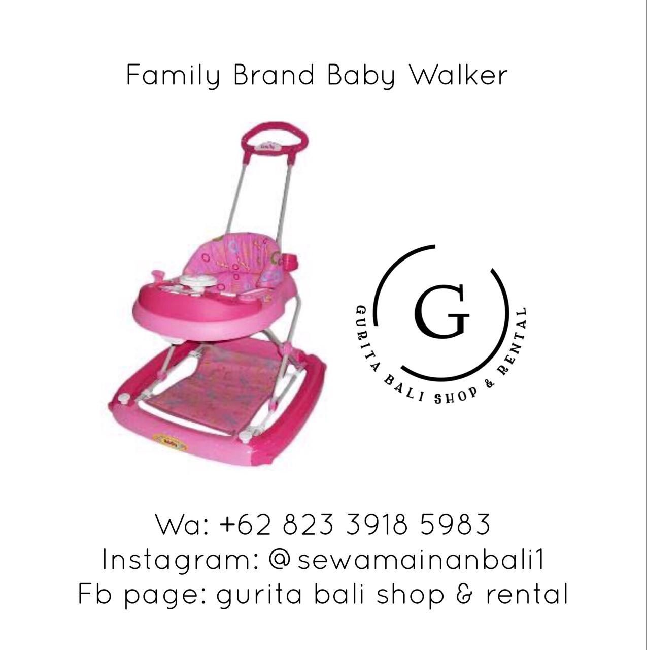 FAMILY BABY WALKER