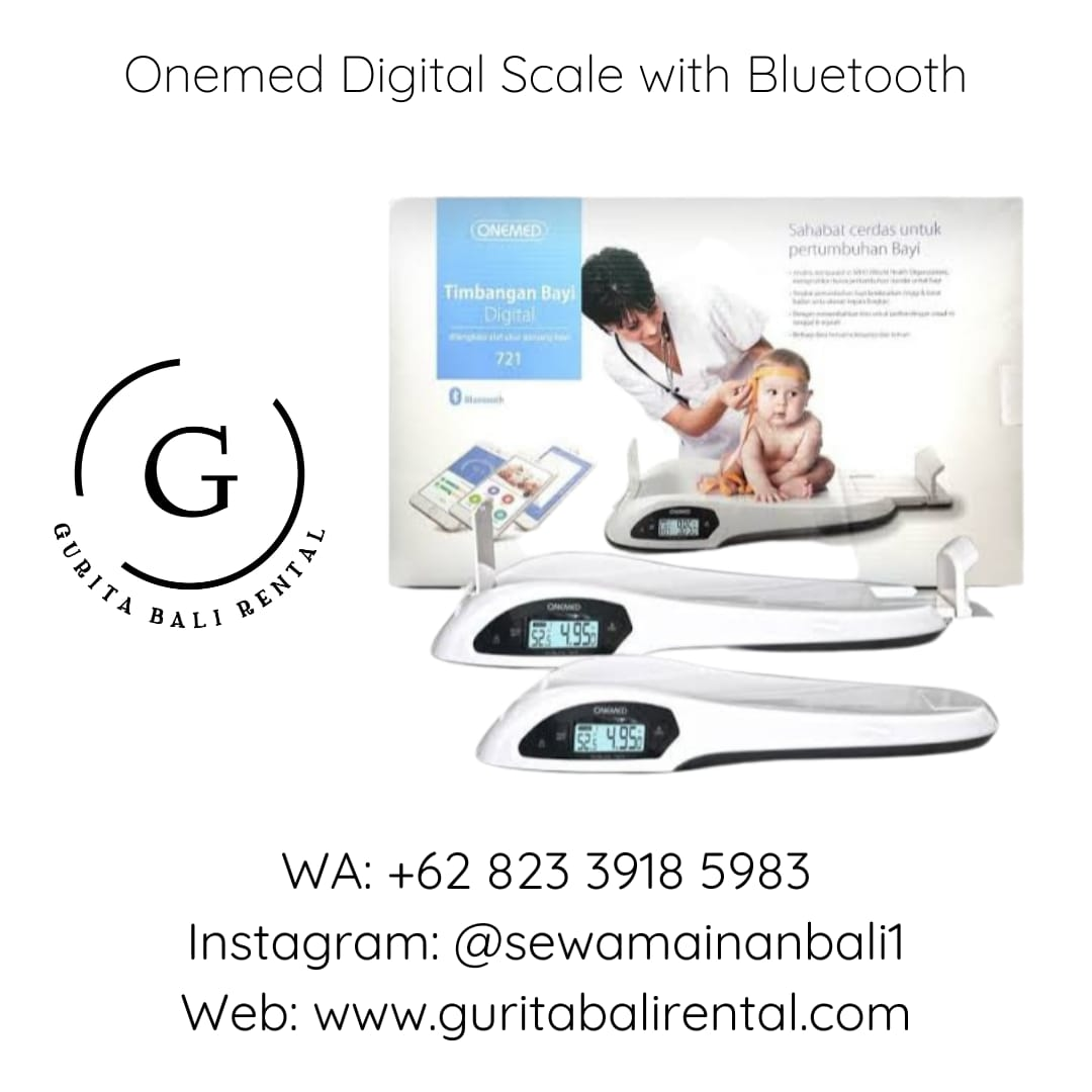 ONEMED DIGITAL SCALE WITH BLUETOOTH (2)