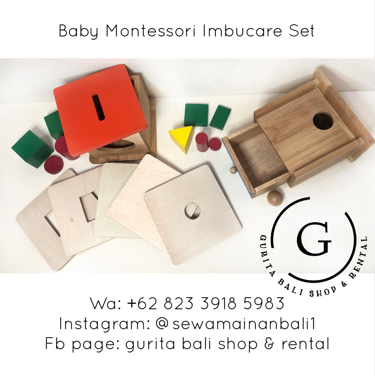 BABY MONTESSORI IMBUCARE SET