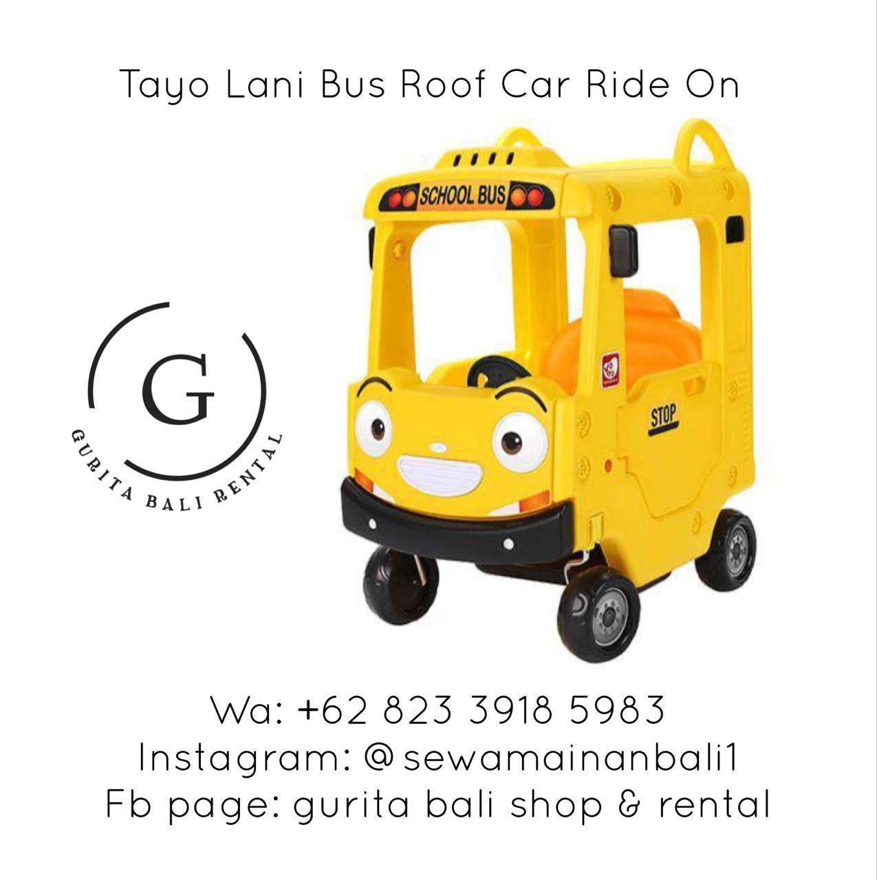 TAYO LANI BUS ROOF CAR RIDE ON