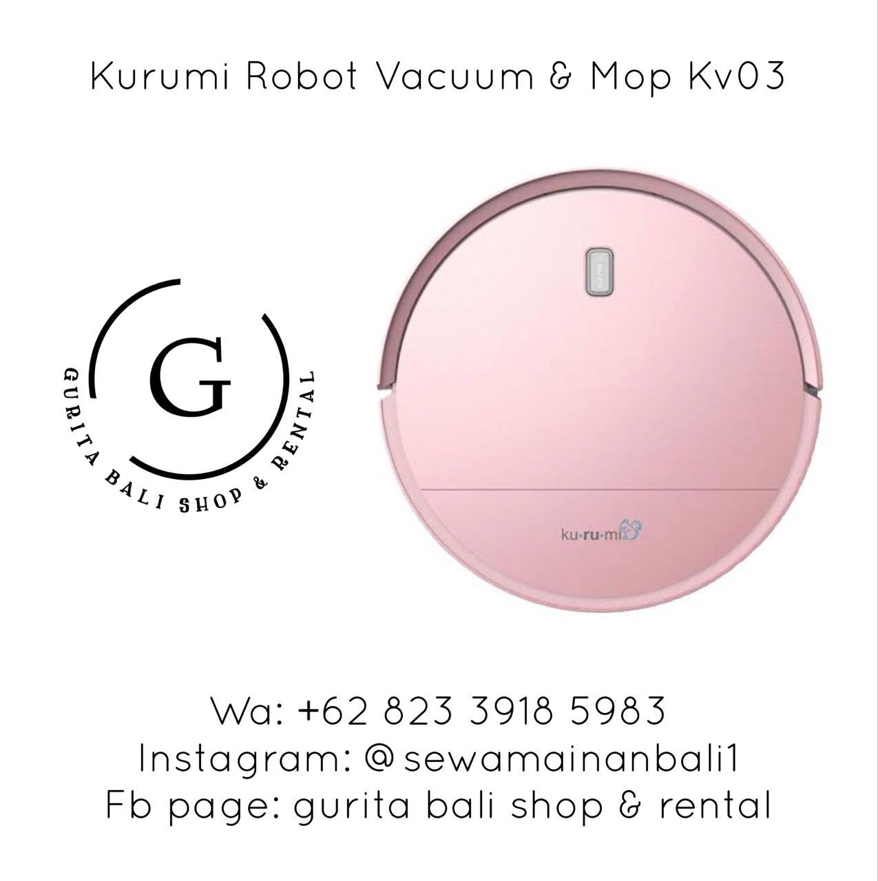 KURUMI ROBOT VACUUM & MOP KV03
