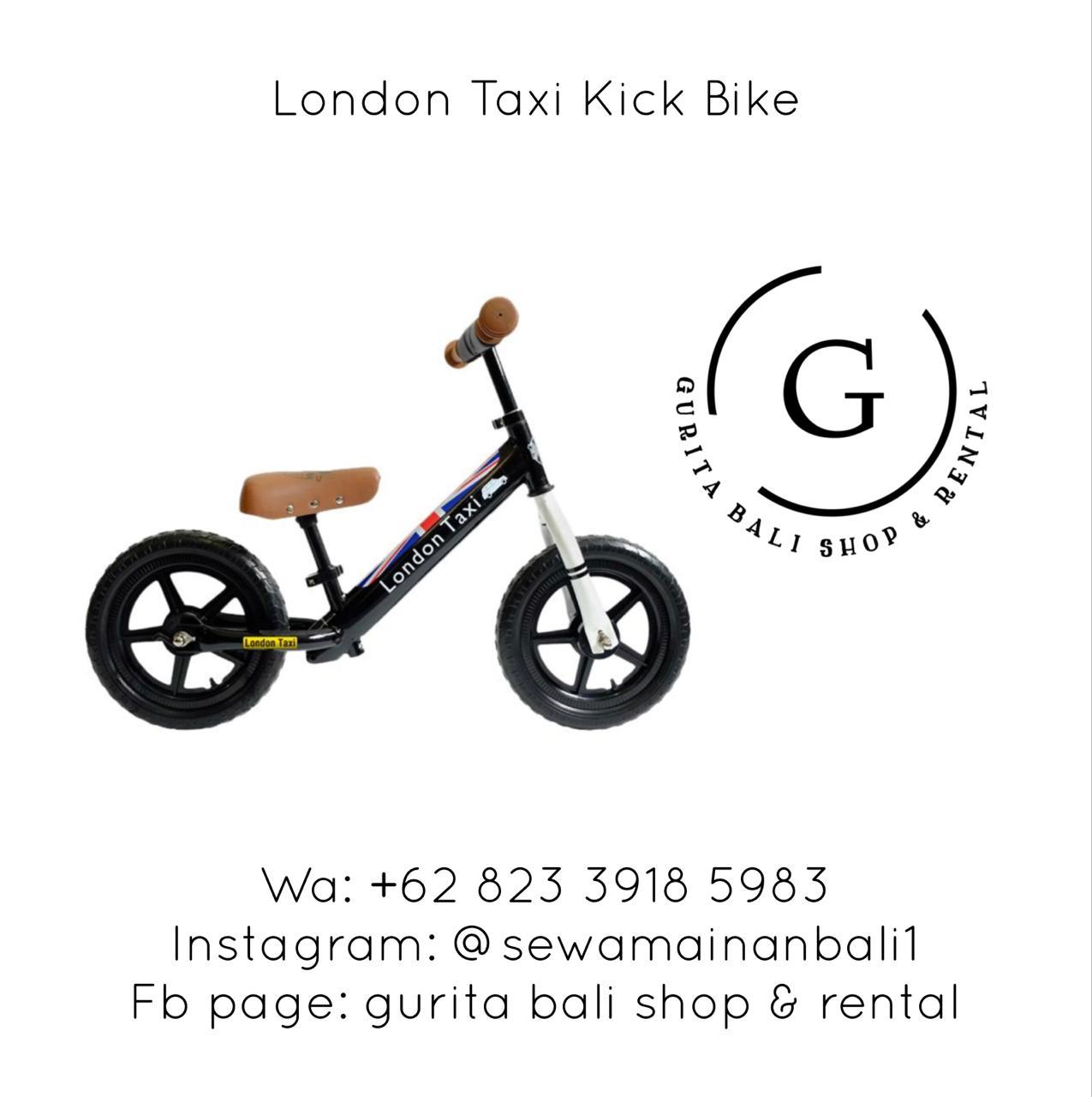 LONDON TAXI KICK BIKE 2