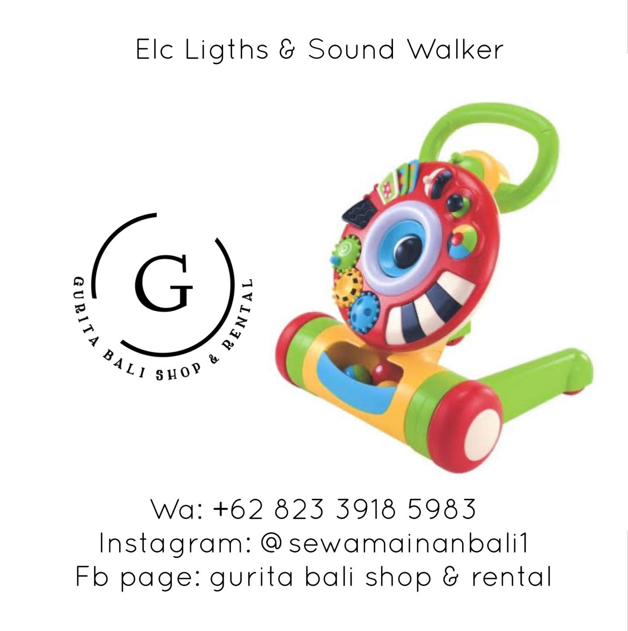 ELC LIGHTS & SOUND WALKER