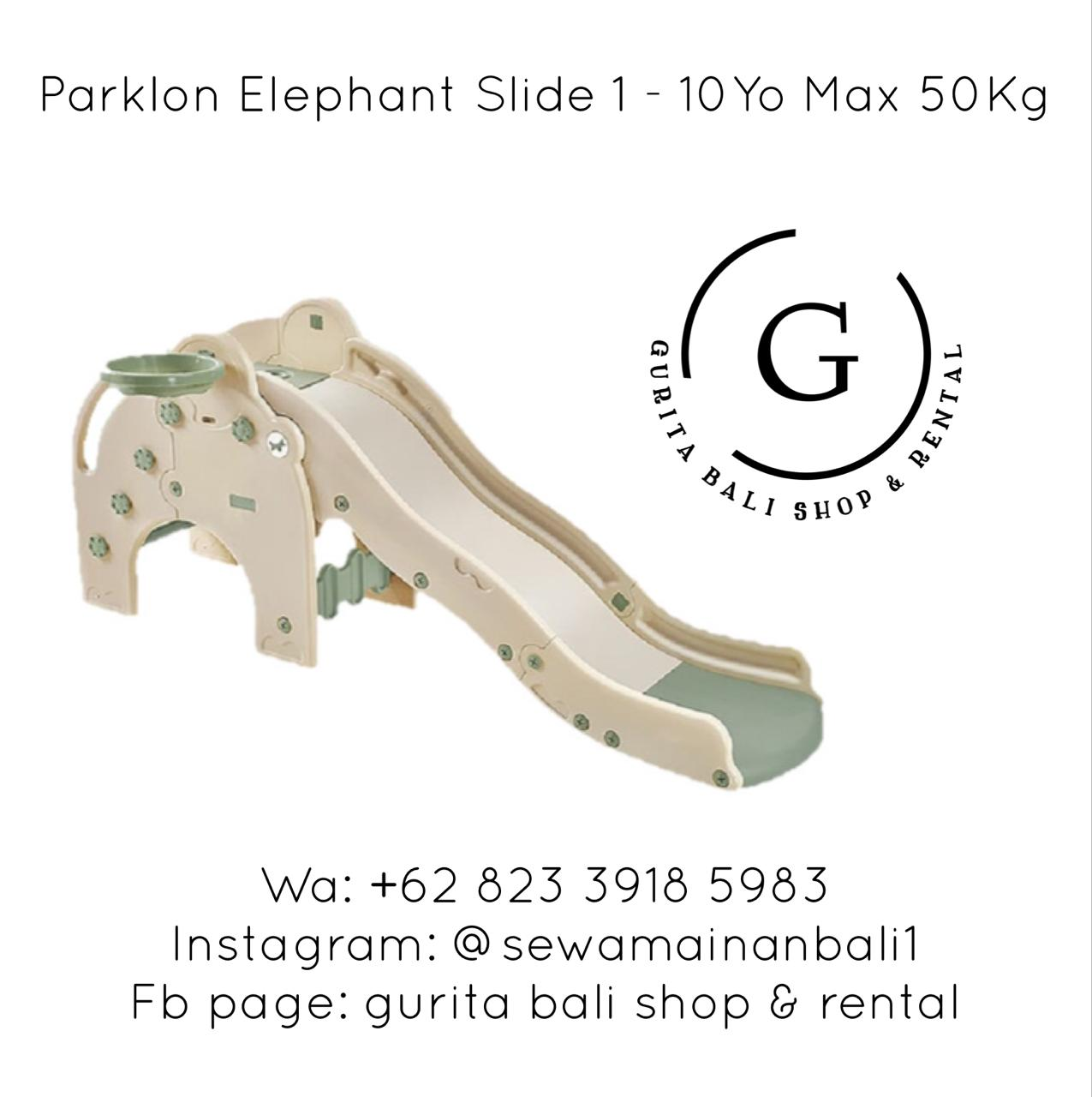 PARKLON ELEPHANT FUN SLIDE 1
