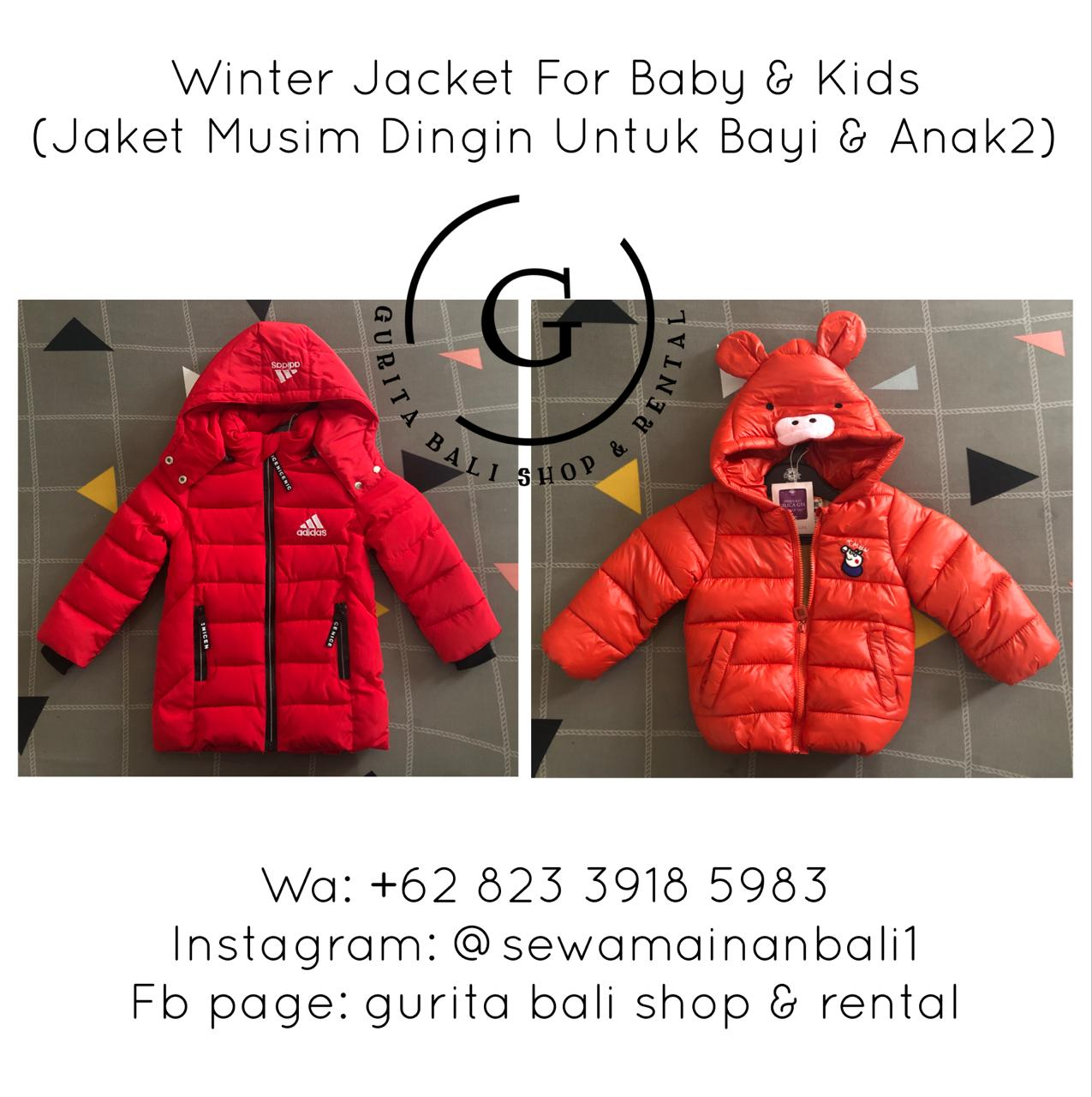 WINTER JACKET FOR BABY & KIDS SIZE S