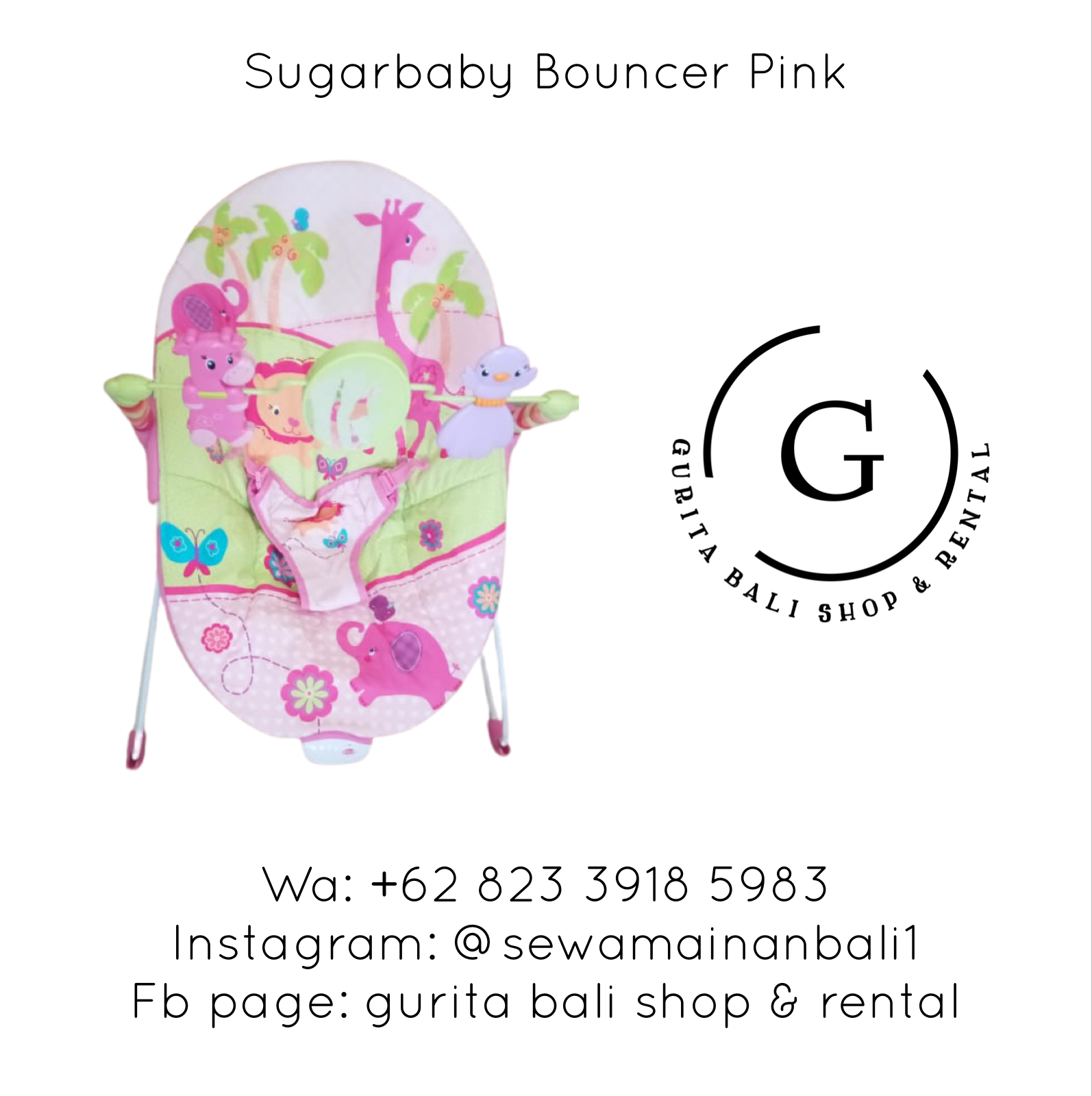 SUGARBABY BOUNCER