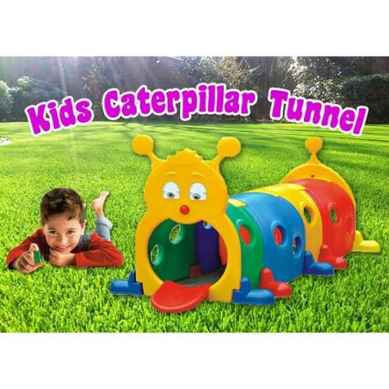KIDS CATERPILLAR TUNNEL