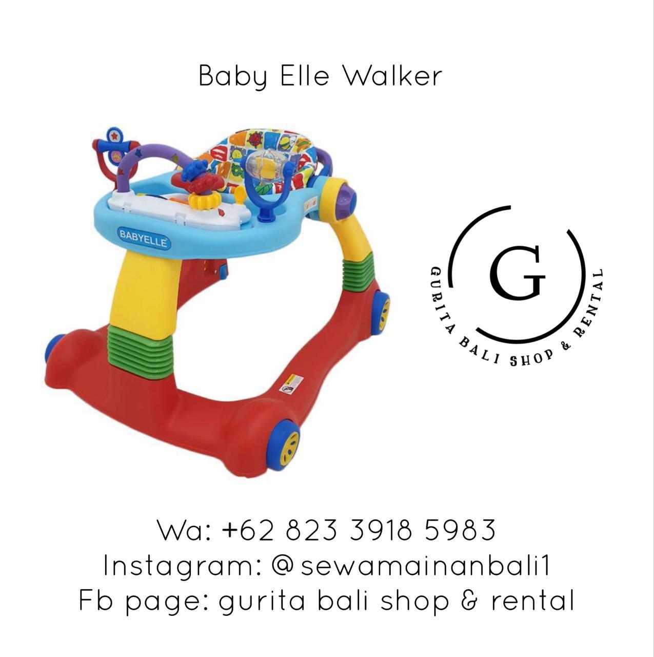 BABY ELLE WALKER 3
