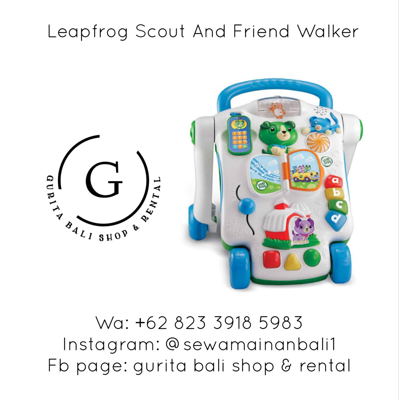 LEAP FROG SCOUT AND FRIEND WALKER