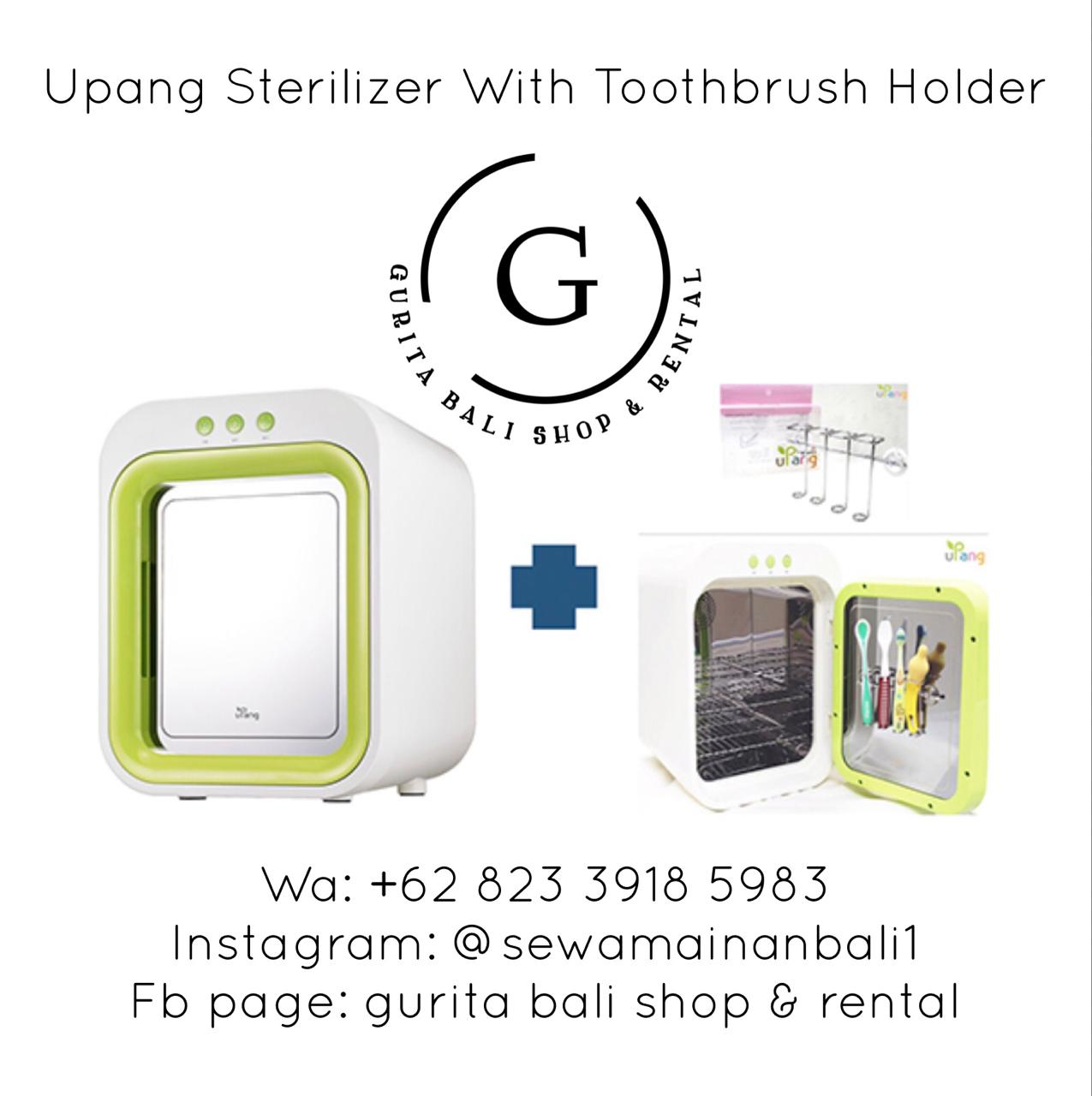 UPANG STERILIZER WITH TOOTBRUSH HOLDER