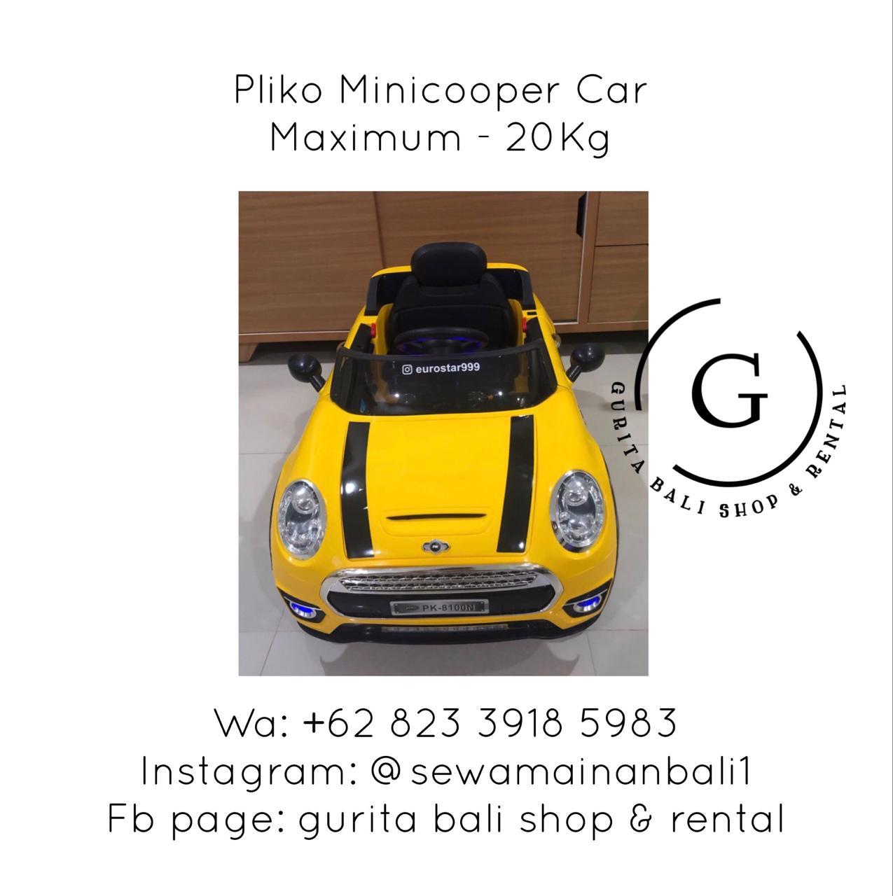 PLIKO MINICOOPER CAR 2