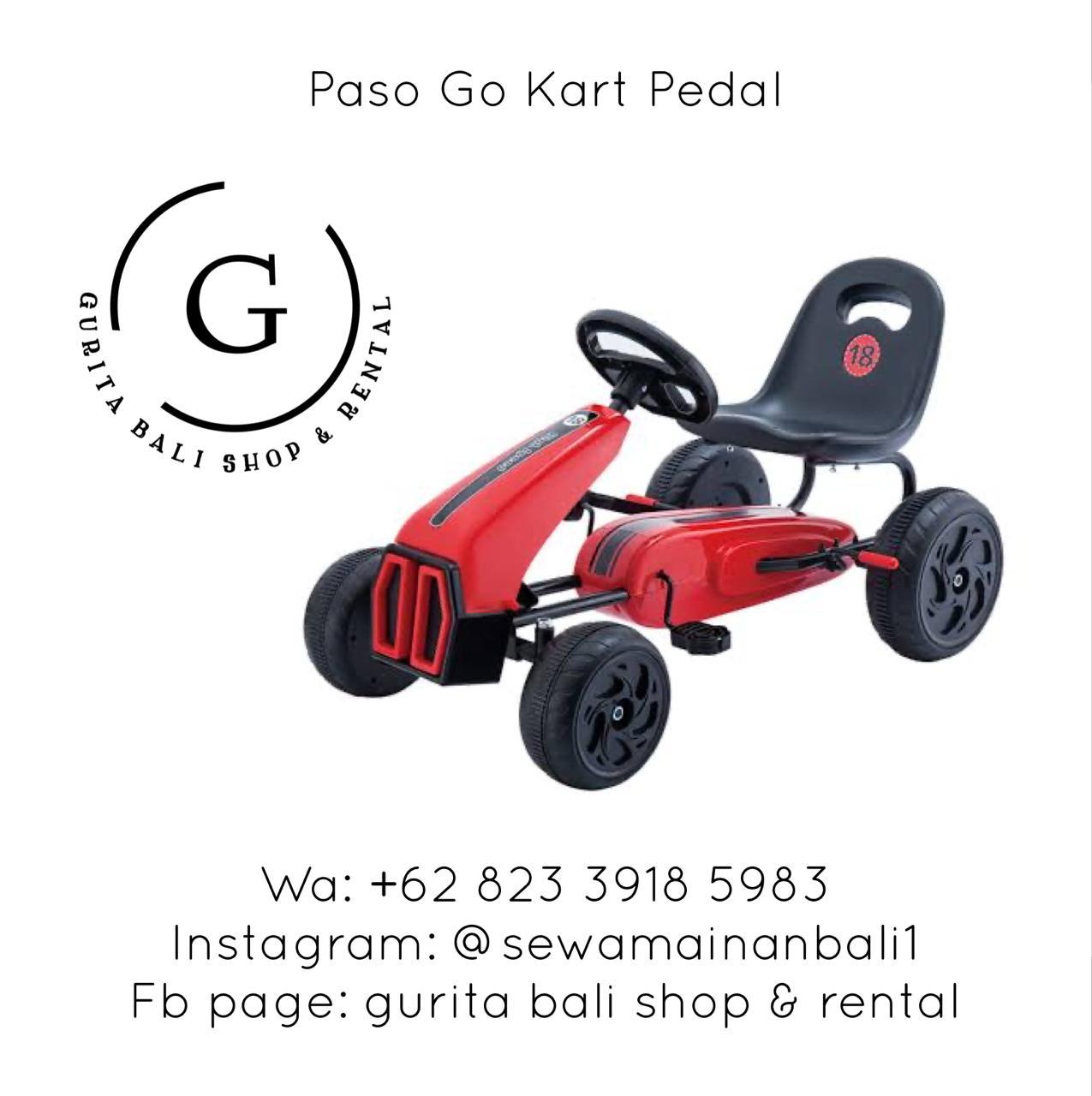 PASO GO KART PEDAL