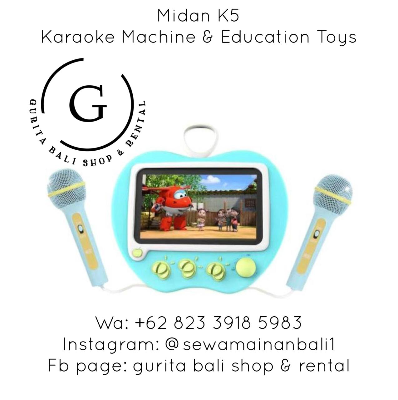 MIDAN K5 KARAOKE MACHINE & EDUCATIONAL