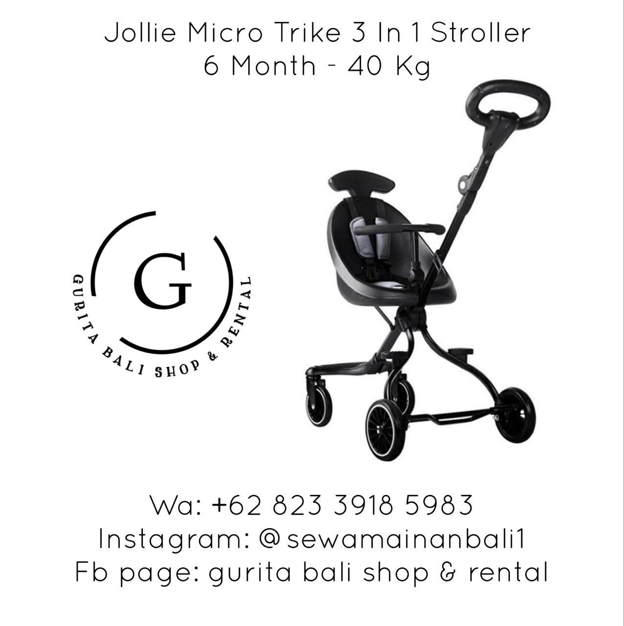 JOLLIE MICRO TRIKE 3 IN 1