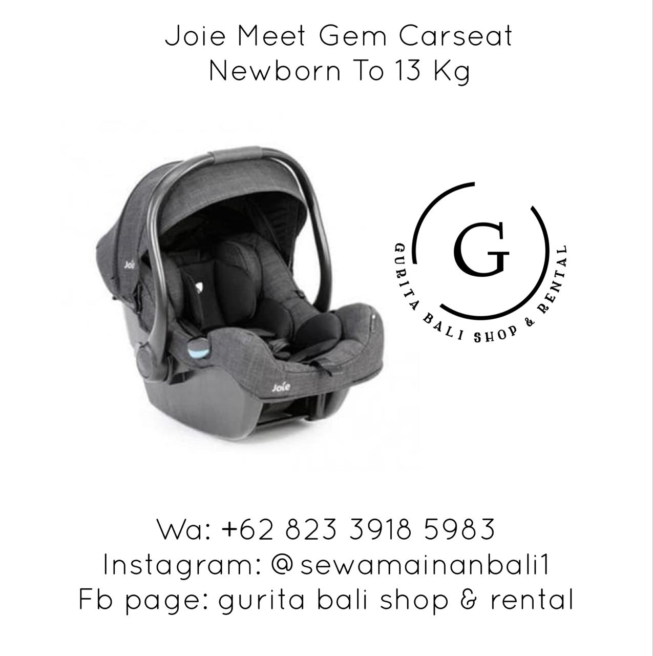 JOIE MEET GEM CARSEAT